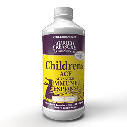 Childrens ACF Rapid Immune Recovery, Immune Booster & Support for Kids, Herbal Blend with Vitamin C Elderberry…