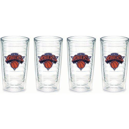 Tervis 1059380 ''NBA New York Knicks'' Tumbler, 16 oz, Clear by Tervis