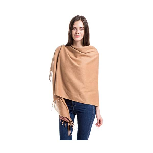 Winter Extra Large Cashmere Wrap Shawl Stole for Women Wool Scarf 79in x 28in