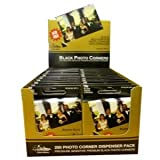 Pioneer Photo Corners Self Adhesive, 250/Pkg, Black (BPC1)
