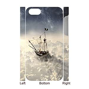 3D Way to Dreamland For Samsung Galaxy S6 Case Cover for Women Funny Design- White