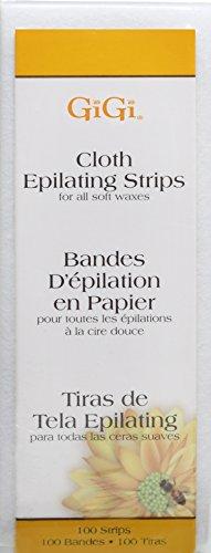 (GiGi Cloth Epilating Strips, Small, 100)