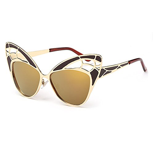 GUGGE Lady Fashionable Personality Butterfly Sunglasses(C3)
