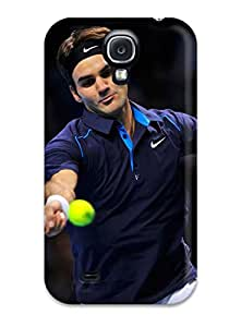 Galaxy S4 Case, Premium Protective Case With Awesome Look - Roger Federer