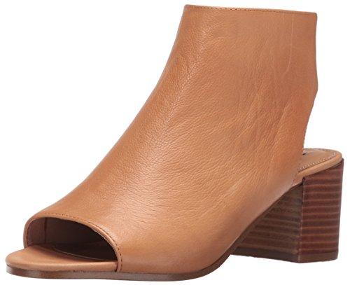 Steve Madden Women's Rico Heeled Sandal, Camel Leather, 7 M US 41jGNtul3EL