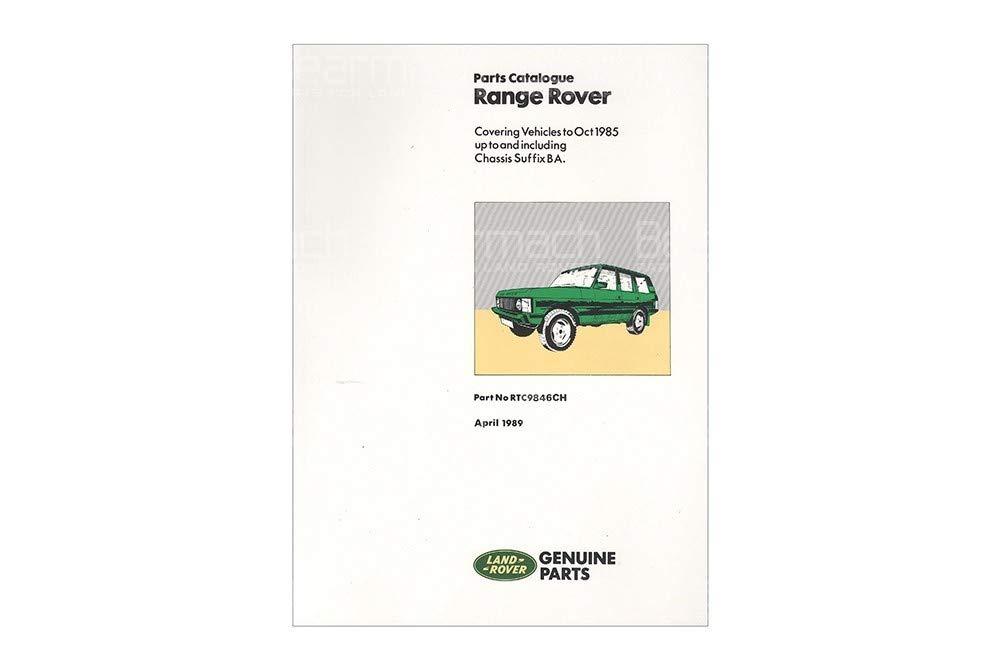 BEARMACH OEM - Parts Catalogue - Range Rover Classic 1970-1985 Part# RTC9846C