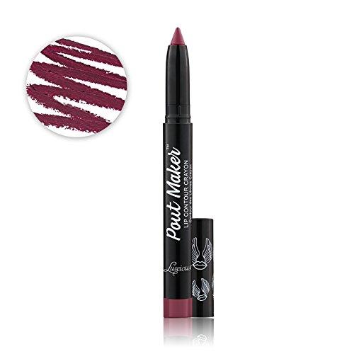 Luscious Cosmetics Pout Maker Contouring Lip Crayon || - Vegan & Cruelty Free (Passionate) ()