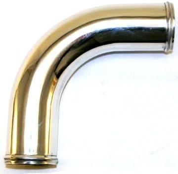 1 Mandrel Bent Aluminum 90 Bend 3.5