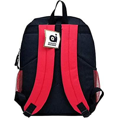 Super Mario Bros Super Bowser Large Backpack #NN43718: Clothing