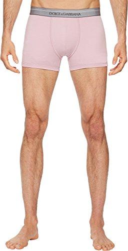 Dolce & Gabbana Men's Stretch Cotton Regular Boxer Pink 5 (Dolce Gabbana Mens Underwear &)