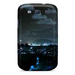 linJUN FENGSnap-on Poha Kea At Night Case Cover Skin Compatible With Galaxy S3