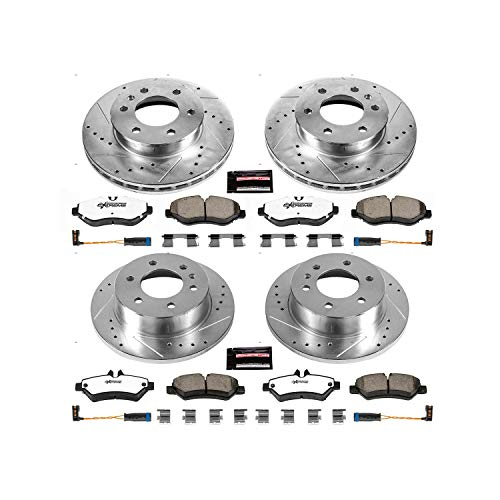Power Stop K6235-36 Front and Rear Z36 Truck and Tow Brake Kit
