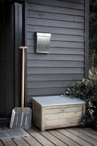 Komplett Neu Sleek wetterfest Outdoor Garten Holz Aufbewahrungsbox Truhe  IA25
