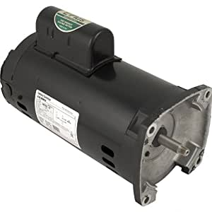 Pentair 355203S Black 1 HP 3-Phase Square Flange Motor Replacement Inground Pool and Spa Pump