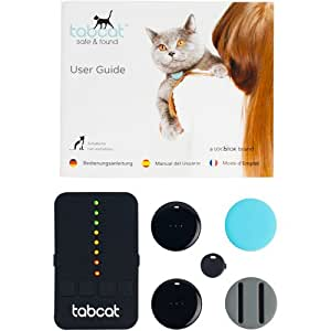 TabCat Pet Tracking Collar Cat Locator Lite Cat Finder Tracker System