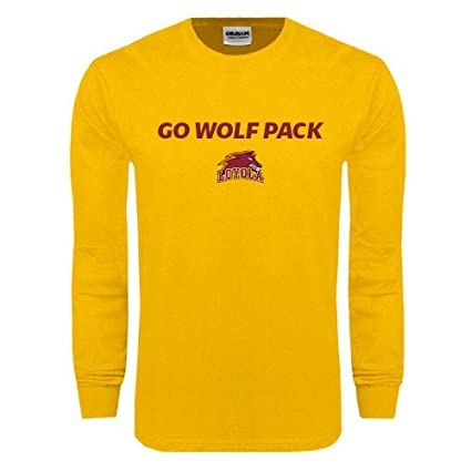 new styles da45b 011bf Amazon.com : Loyola New Orleans Gold Long Sleeve T Shirt 'Go ...