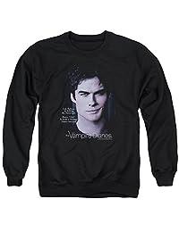 Vampire Diaries Messenger Mens Crew Neck Sweatshirt