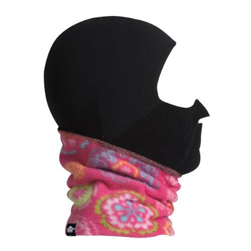 (Turtle Fur Kids Playful Print Fleece Maskot Full Face Windbloc Balaclava)