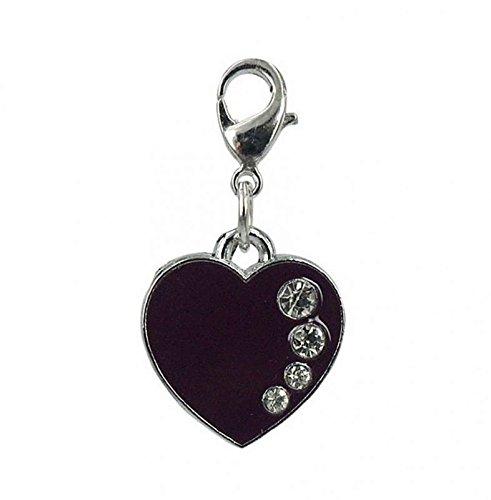 Charm coeur Par Charming acier Charms. gratuite jusqu'à 30 £