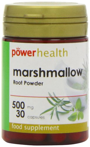 Power Health Marshmallow Root Powder 500mg 30 capsule (Root 30 Capsules)