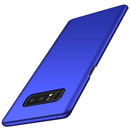 Anccer Samsung Galaxy Note8 Case [Colorful Series] [Ultra-Thin] [Anti-Drop] Premium Material Slim Full Protection Cover for Samsung Galaxy Note 8 2017 (Smooth Blue)