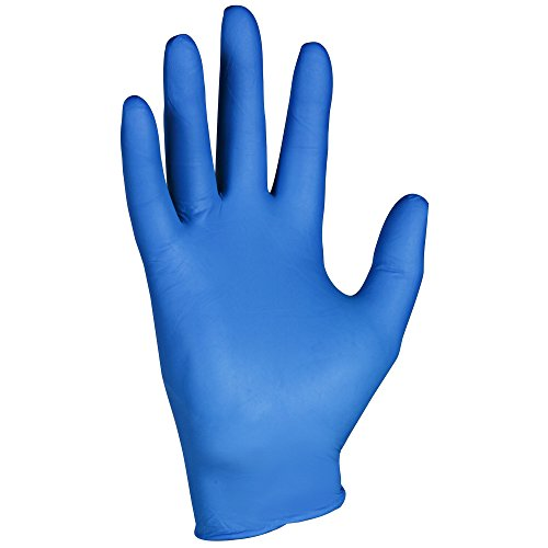 Kleenguard G10 Arctic Blue Nitrile Gloves (90098), Ambidextrous, Powder Free, Large, 10 Dispensers/Case, 200 Gloves/Dispenser, 2,000 Gloves/Case by Kimberly-Clark Professional
