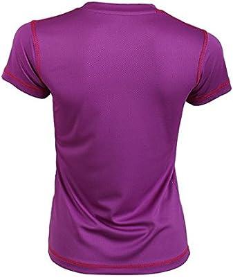 Padel Session Camiseta Tecnica Morada: Amazon.es: Deportes y aire ...
