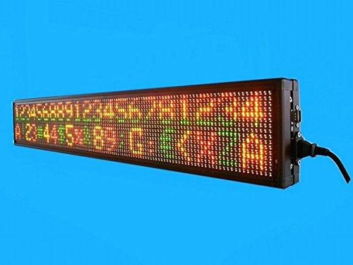 GOWE 12V LED Programmable Moving Sign for Bus 3colors DIP LED