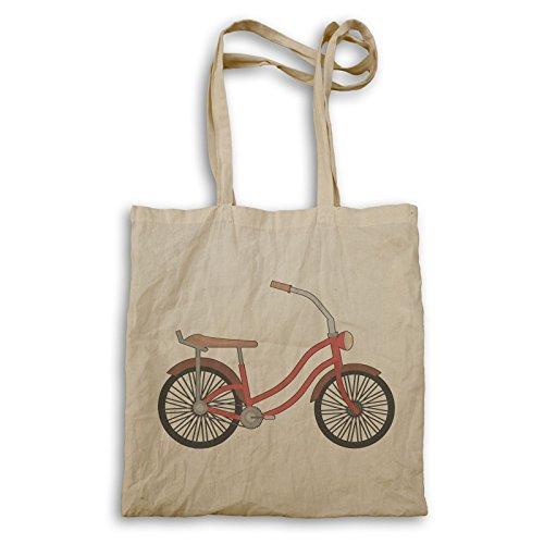 Vintage Retro q302r Kunst Fahrrad Tragetasche xTOSgq
