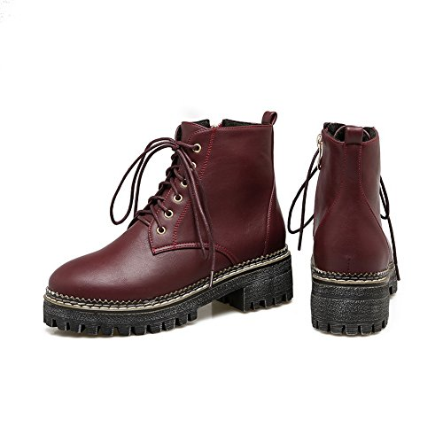 Womens Red Resistant Casual Slip BalaMasa ABL10088 Boots Platform Urethane Anwd71x81q