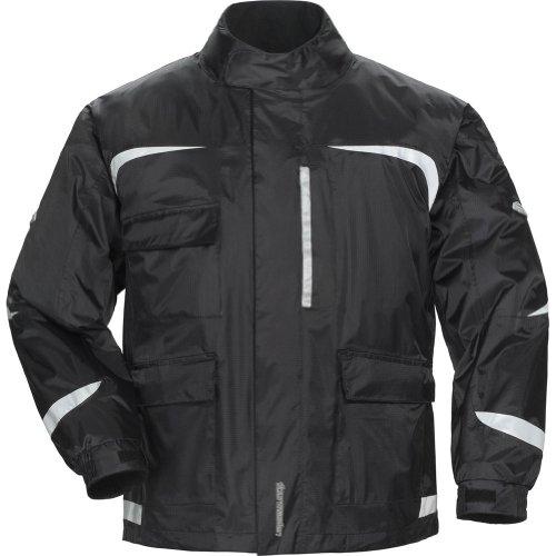 Tour Master Sentinel 2.0 Men's Textile Street Motorcycle Jacket - Black/Black / Medium