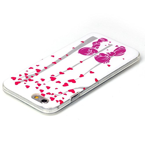 PowerQ Bunte Muster Serie Malerei Zeichnung Colorful Pattern TPU Fall Case Hülle < Red Moustache suit Dog | für IPhone 5S 5 5G SE IPhone5S IPhoneSE >            weiche TPU Abdeckung Handy-Fall Handy-Abdeckung Ha