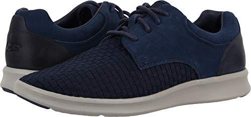 UGG Men's Hepner Woven Oxford, New Navy, 12 M US