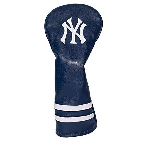 Team Golf MLB New York Yankees Vintage Fairway Golf Club Headcover, Form Fitting Design, Retro Design & Superb Embroidery ()