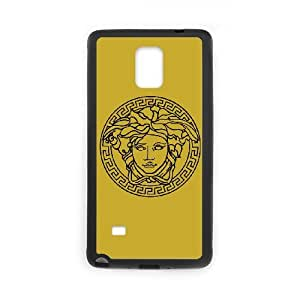 Exquisite stylish phone protection shell Samsung Galaxy Note 4 Cell phone case for Versace Logo pattern personality design