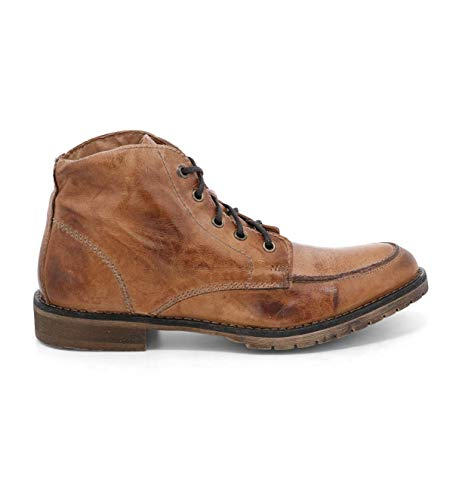 Bed|Stu Men's Curtis II Leather Boot (11.5 M US, Tan Dip Dye)