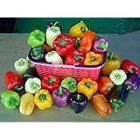 GEOPONICS Grand Bell Mix Pepper Seeds - Beautiful