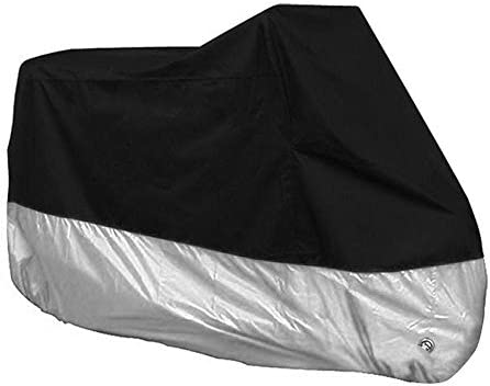 KKmoon Waterproof Motorcycle Cover Shelter Rain UV All