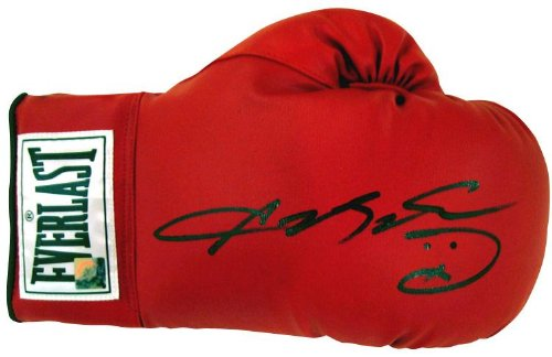 - Sugar Ray Leonard Signed Glove - Autographed Boxing Gloves