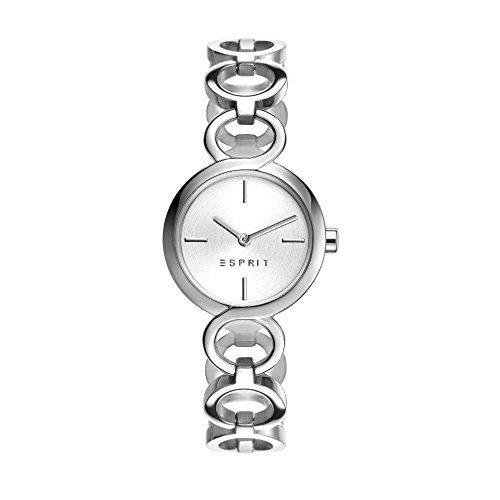 Esprit Damen-Armbanduhr Arya Analog Quarz Edelstahl ES108212001