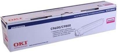 Genuine Okidata Toner for C9600 C9800 Series Type C7 42918902 Magenta