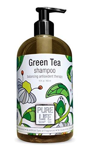 Pure Life Шампунь Зеленый чай, 15 жидкую унцию