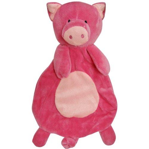 FouFou Dog Floppy Toy, Pig, My Pet Supplies
