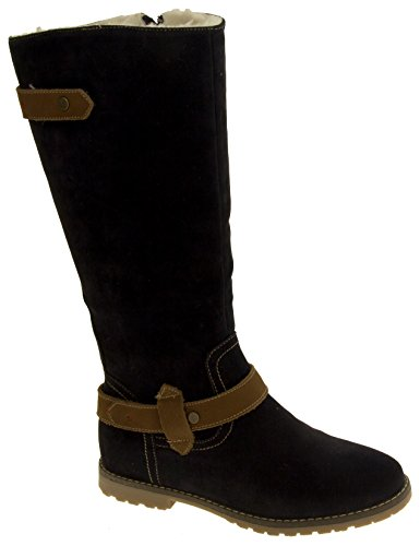 Studio Footwear Marino Keddo Lana Donna Stivali Foderato Blu zqfqwPd