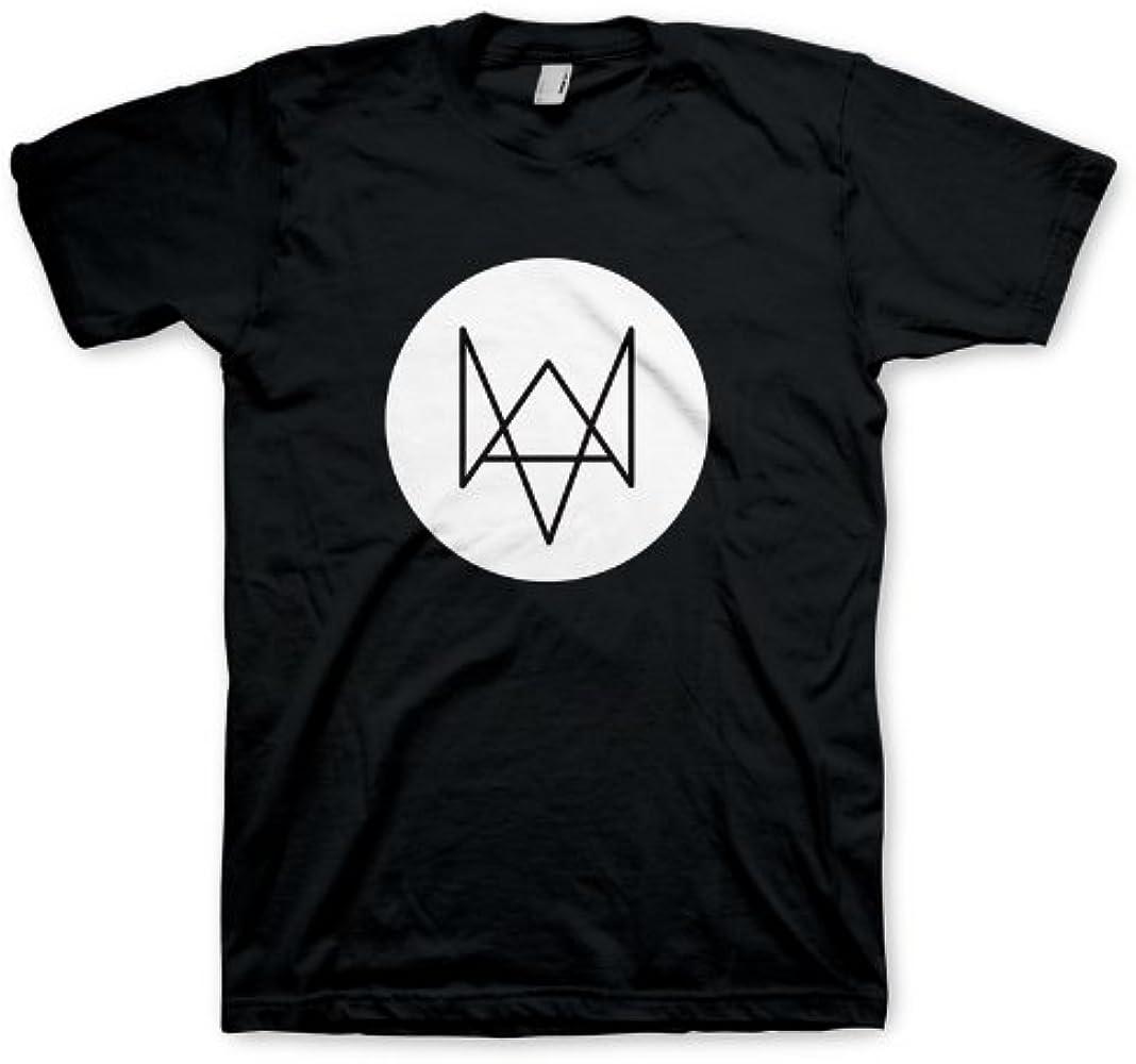 Watch Dogs Fox - Camiseta de manga corta para hombre, color negro, talla M: Amazon.es: Ropa y accesorios