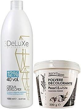 Set de peróxido de crema, 1000 ml (12% Volumen 40) y usar ...