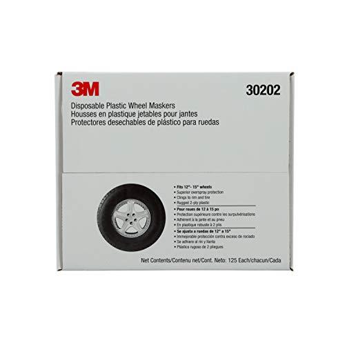 Marson 30202 Kwikee 12″ – 15″ Disposable Plastic Wheel Masker