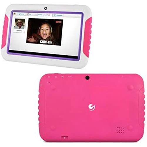 XO Vision - FunTab 7 Kids Tablet Pink Pu Coupons