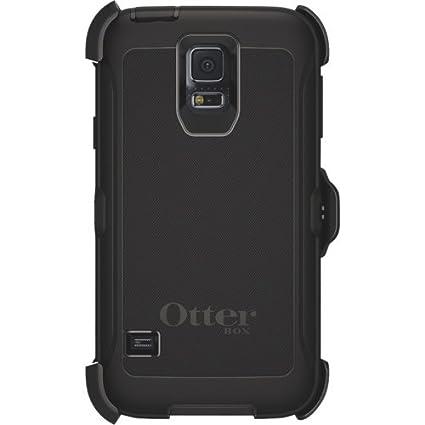 sale retailer fbf9d e32f5 OtterBox Defender Galaxy S5/Neo Case - Black: Amazon.ca: Cell Phones ...