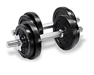 Yes4All Adjustable Dumbbells, 40.00 Pounds